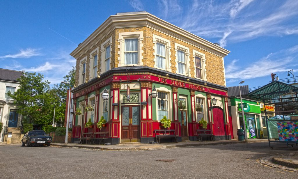 """TRC Supplies New """"Like For Like"""" Windows for The BBC's new EastEnders set."""