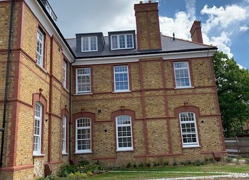 TRC Supply and Fit 78 new Georgian Sash Windows for a Victorian Villa